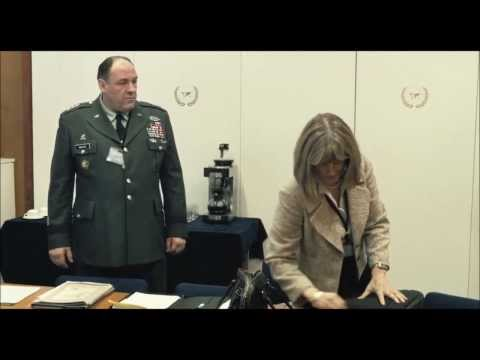 "James Gandolfini scenes from ""In the Loop"" Movie"