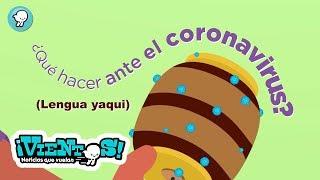 ¿Qué hacer ante el coronavirus?, Medidas preventivas. (Lengua yaqui)