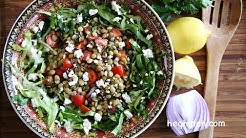 How to make Lentil Salad with Feta - Perfect Salad Ideas - Heghineh Cooking Show