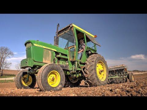 Seeding Oats And Alfalfa - John Deere 4020, 7600, 8235R