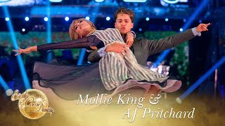 Mollie King and AJ Pritchard American Smooth to
