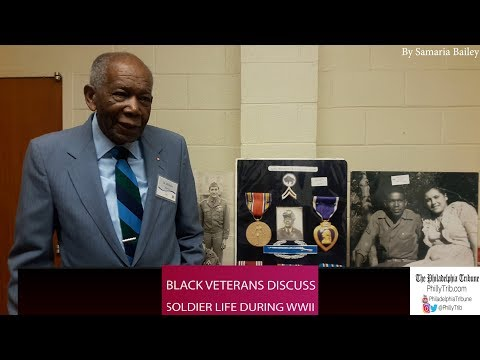 Black veterans discuss the complex history fighting for America