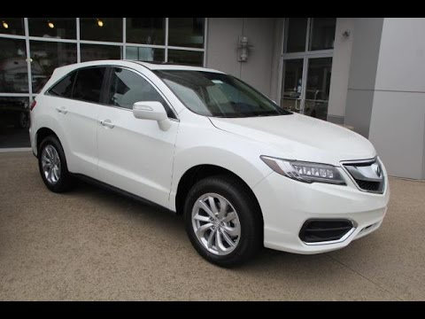 new white diamond pearl 2016 acura rdx awd with technology. Black Bedroom Furniture Sets. Home Design Ideas