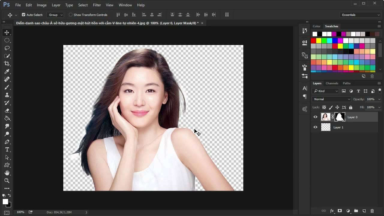 Adobe PhotoShop: Bài 10. Sử dụng lớp mặt nạ Layer Mask