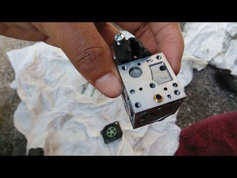 A quick look at an Echo SRM-225 carburetor clean
