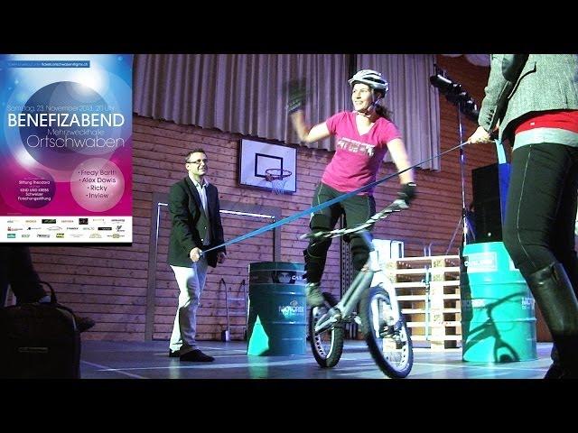 Karin Moor - Trial Mountainbike - 9 Weltmeisterschaft Titel - Benefizabend 2013