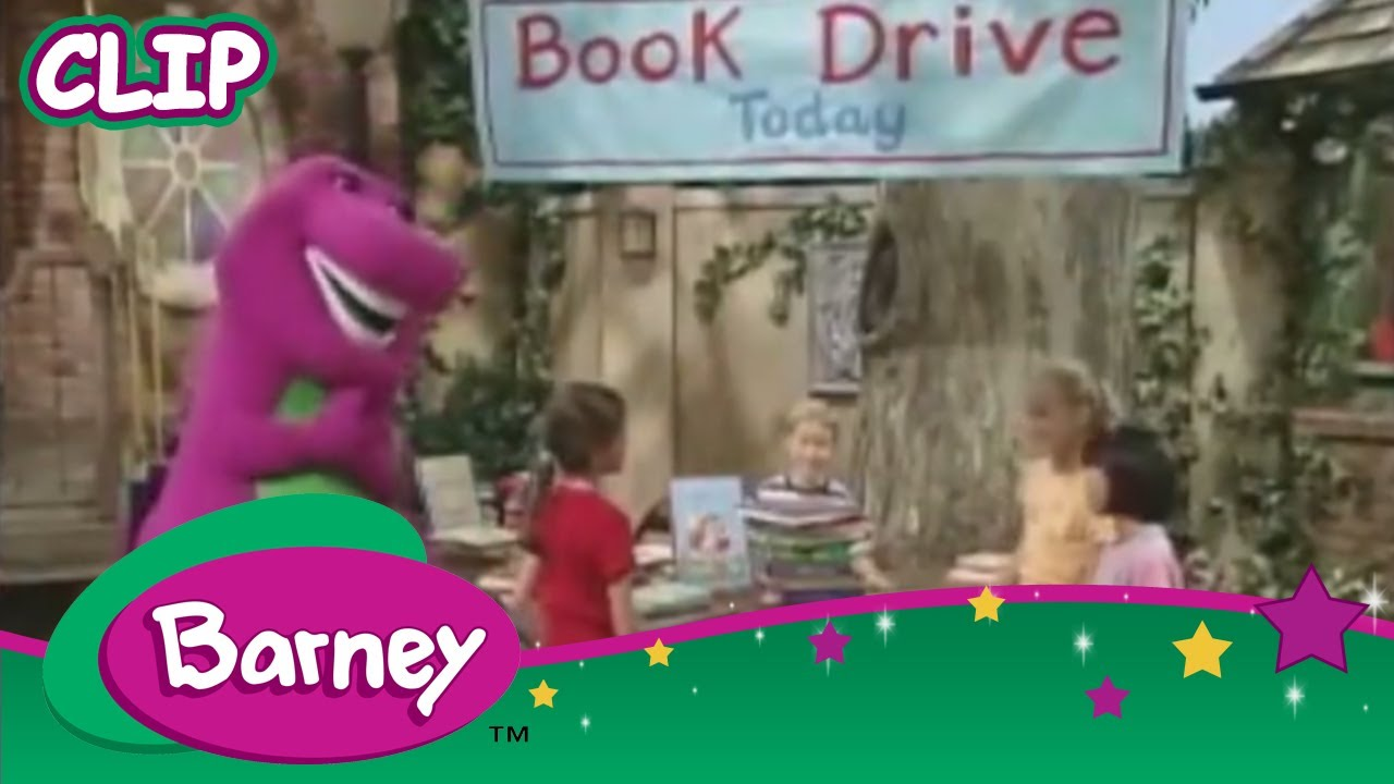 Barney Night Before Christmas Books | INFOVISUAL