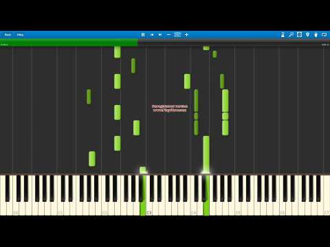 [Piano - Synthesia] Bakemonogatari - Senjougahara Tore (Staple Stable) [MIDI Download]