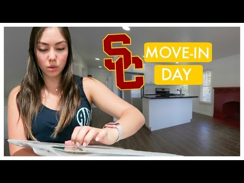 College Move-In Vlog | USC 2016