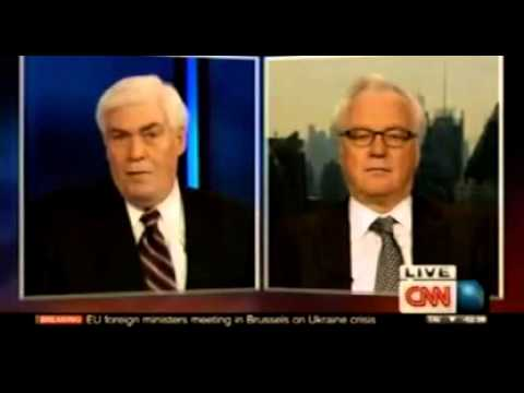 Ukraine: Vitaly Churkin   CNN   Crisis In Ukraine   February 20, 2014