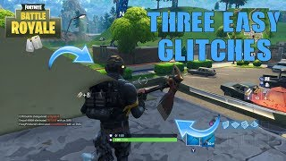 Top 3 *EASIEST* GLITCHES in Fortnite Battle Royale! (Wall-Breach, 6 Weapon Slots, God Mode)