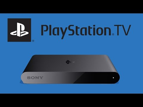 Sony PlayStation TV Unboxing - First UK Unboxing. Sony Vita TV.