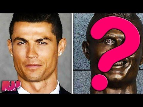 New Cristiano Ronaldo Statue Is A Totally Terrifying FAIL