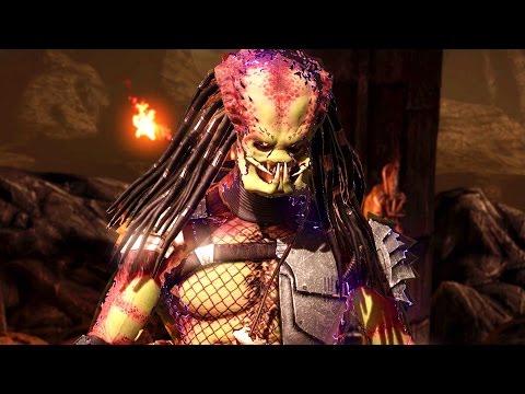 Mortal Kombat X - Predator Ladder Walkthrough And Ending