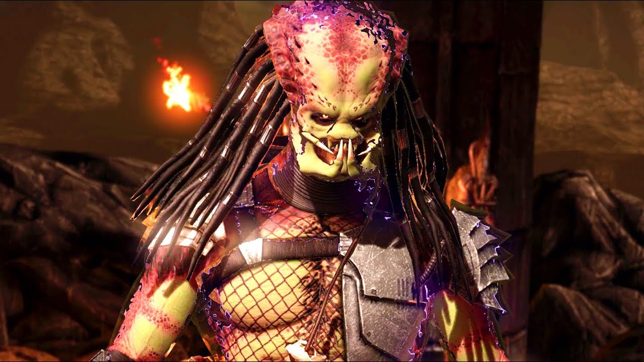 Mortal Kombat X - Predator Ladder Walkthrough and Ending