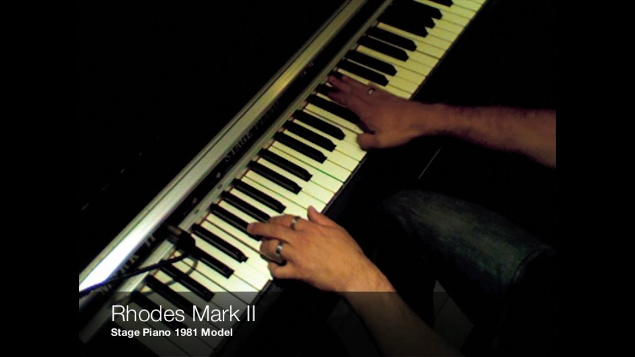 Rhodes Mark II for Motif XF, XS, Kontakt, Kronos, EXS24