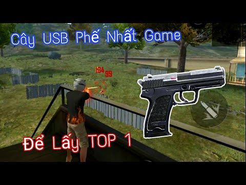 [FREE FIRE] - Đùng Cây USB Phế Nhất Game -  ANH FORD Thử Thách Bản Thân Lấy TOP 1