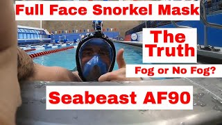 Best Full Face Snorkeling Mask yet? The Seabeast AF90