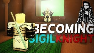 Becoming a Sigil knight in Rogue Lineage - Roblox Rogue Lineage (Episode 4)(paid access)