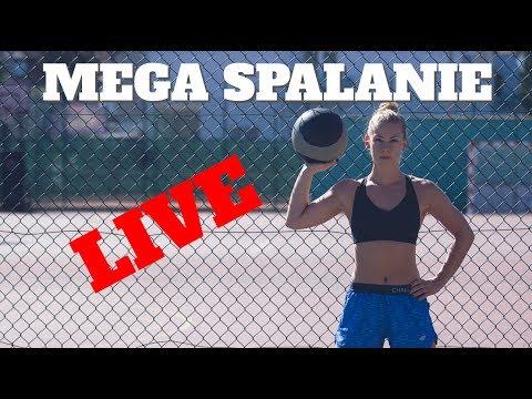 MEGA SPALANIE+ PŁASKI BRZUCH- trening live