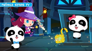 Let's Rescue Baby Panda Kiki & Miumiu with The Magician - Babybus Adventure Games - TwinkleStarsTV