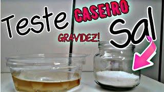 TESTE CASEIRO DO SAL: 100% GRAVIDEZ?