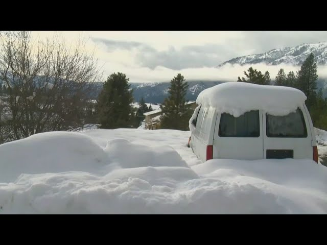 Garden Valley residents still digging out from latest snow storm