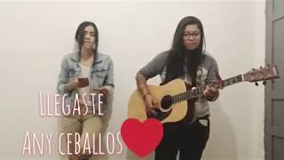 llegaste - Any Ceballos ft Daniela Calvario YouTube Videos