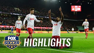 Watch full highlights between 1. fc koln vs. schalke 04.#foxsoccer #bundesliga #1fckoln #schalke04subscribe to get the latest fox soccer content: http://f...
