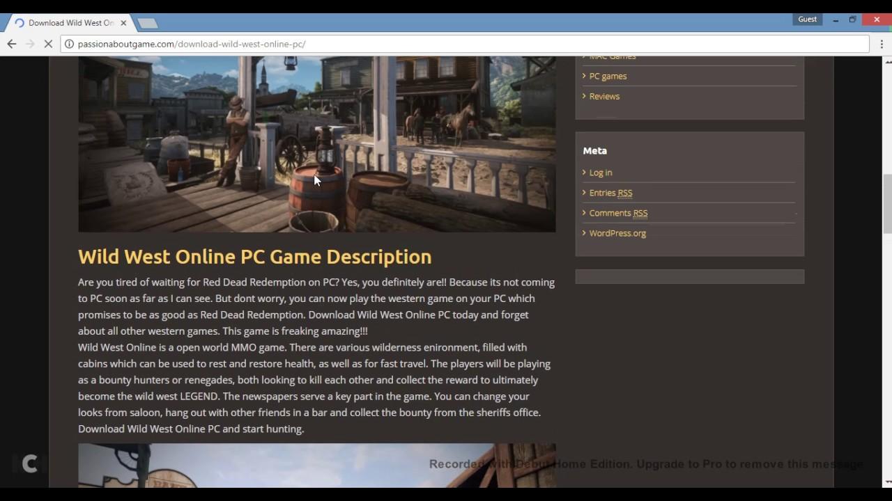 Wild West Online Download