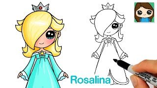 How to Draw Rosalina Super Mario