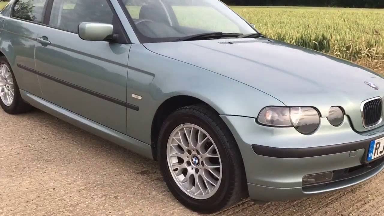 2003 Bmw 316ti Se Compact E46 Hatchback 1 8 Manual Petrol Engine