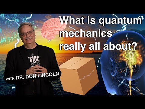 What is quantum mechanics really all about?