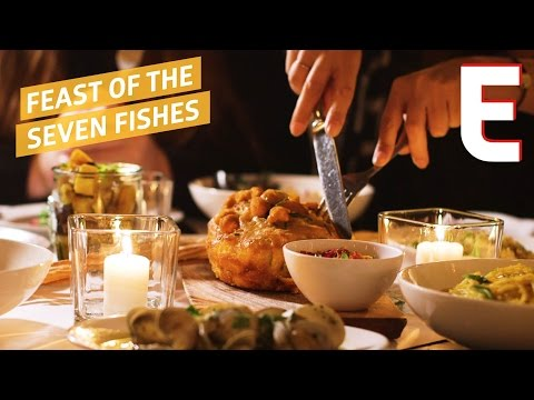 How Vic's In New York City Does The Feast Of The Seven Fishes —  Snack Break