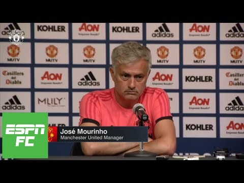 Is Jose Mourinho already telling media his team can't win Premier League? | ESPN FC