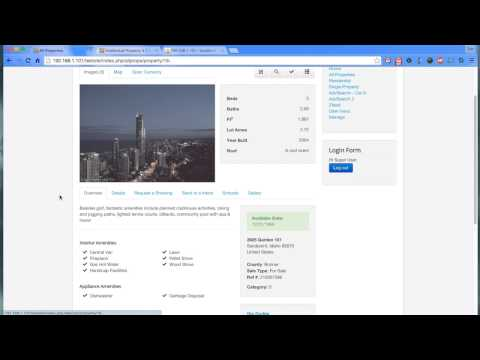 Joomla Real Estate Component-- Intellectual Property (IProperty) 3.3.2