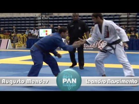 "Augusto ""Tanquinho"" Mendes VS Leandro Lo / Pan Championship 2011"