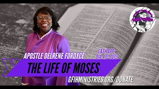 Bible Study with Apostle Delrene Fordyce | Gospel Foundation International Healing Ministries