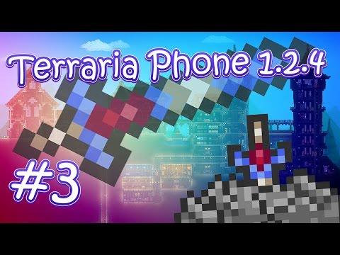 видео: lp. terraria phone 1.2.4 #3 (Шахта и находка чудесного меча!)