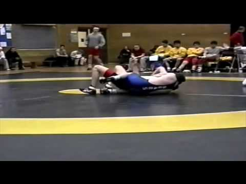 2002 Dual Meet: 68 kg Damon Booth (UofC) vs. Chris Stanton (UofA)