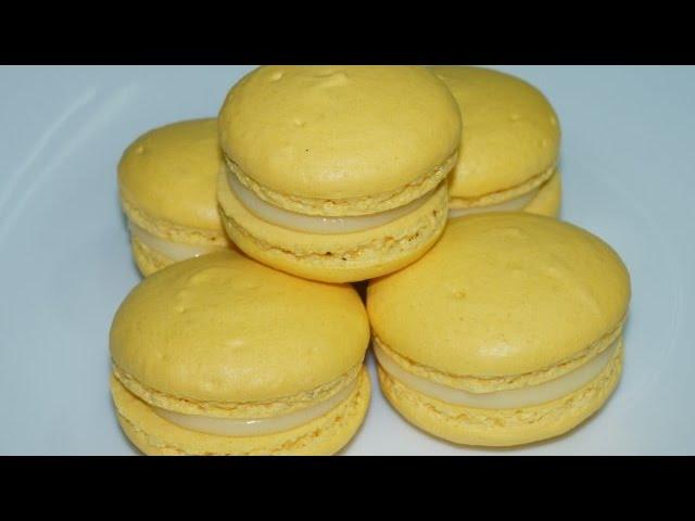 Macaron Au Citron Inratable Cuisinerapide Youtube