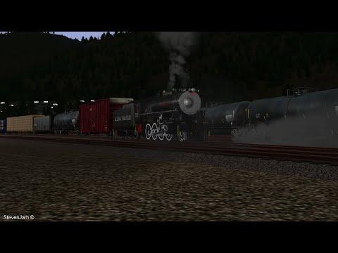 Alaskan Steam Chase - Trackside In Train Sim |