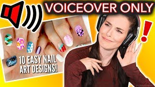 I Tried Following ONLY the VOICEOVER of a Cutepolish Nail Art Tutorial thumbnail