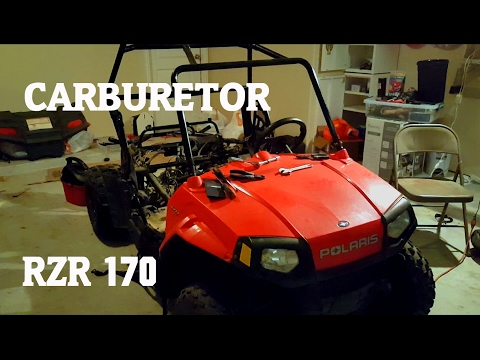 Where is the Carburetor on Polaris RZR 170 + More !