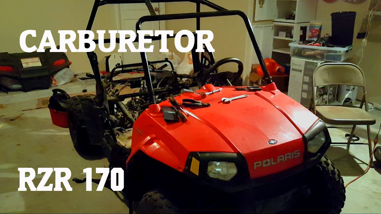 where is the carburetor on polaris rzr 170 more youtube rh youtube com 2005 Polaris Sportsman Wiring-Diagram Polaris Sportsman 500 Wiring Diagram