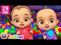 Johny Johny Yes Papa Ball Pit Show - ChuChu TV 3D Baby Songs & Nursery Rhymes for Kids