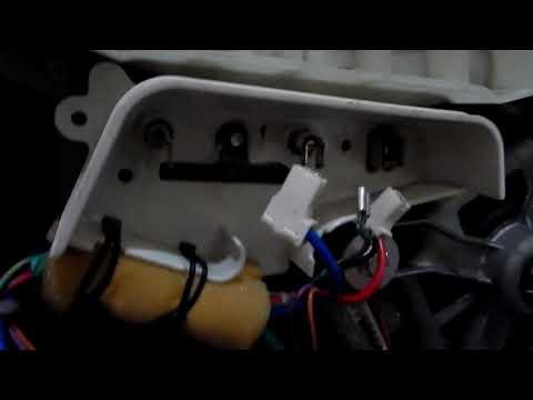 как снять термистор и ремень со стиральной машины самсунг