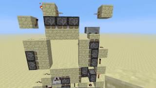 Smallest 3x3 door, 96 blocks! (8x12x1) Thumbnail