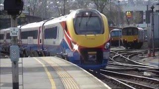 Trains at Sheffield 10/4/16