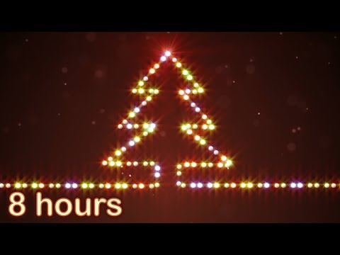 ✰ 8 HOURS ✰ CHRISTMAS MEDLEY ♫ Christmas Music Instrumental ✰ Christmas Songs Mix ✰ Snow Falling